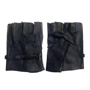 Guanteleta de piel, marca Arcos Safety, color negro