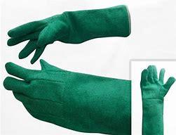 guante de asbesto de 45 cm