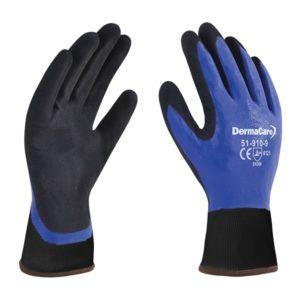 guante de nitrilo rec azul 51-910