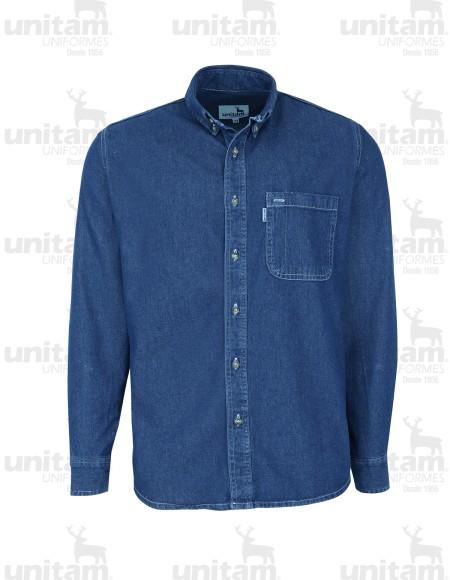 Camisa de mezclilla Unitam