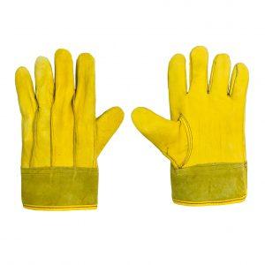 Guante de piel de res tipo operador marca arcos safety