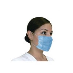 Cubre boca Desechable Azul