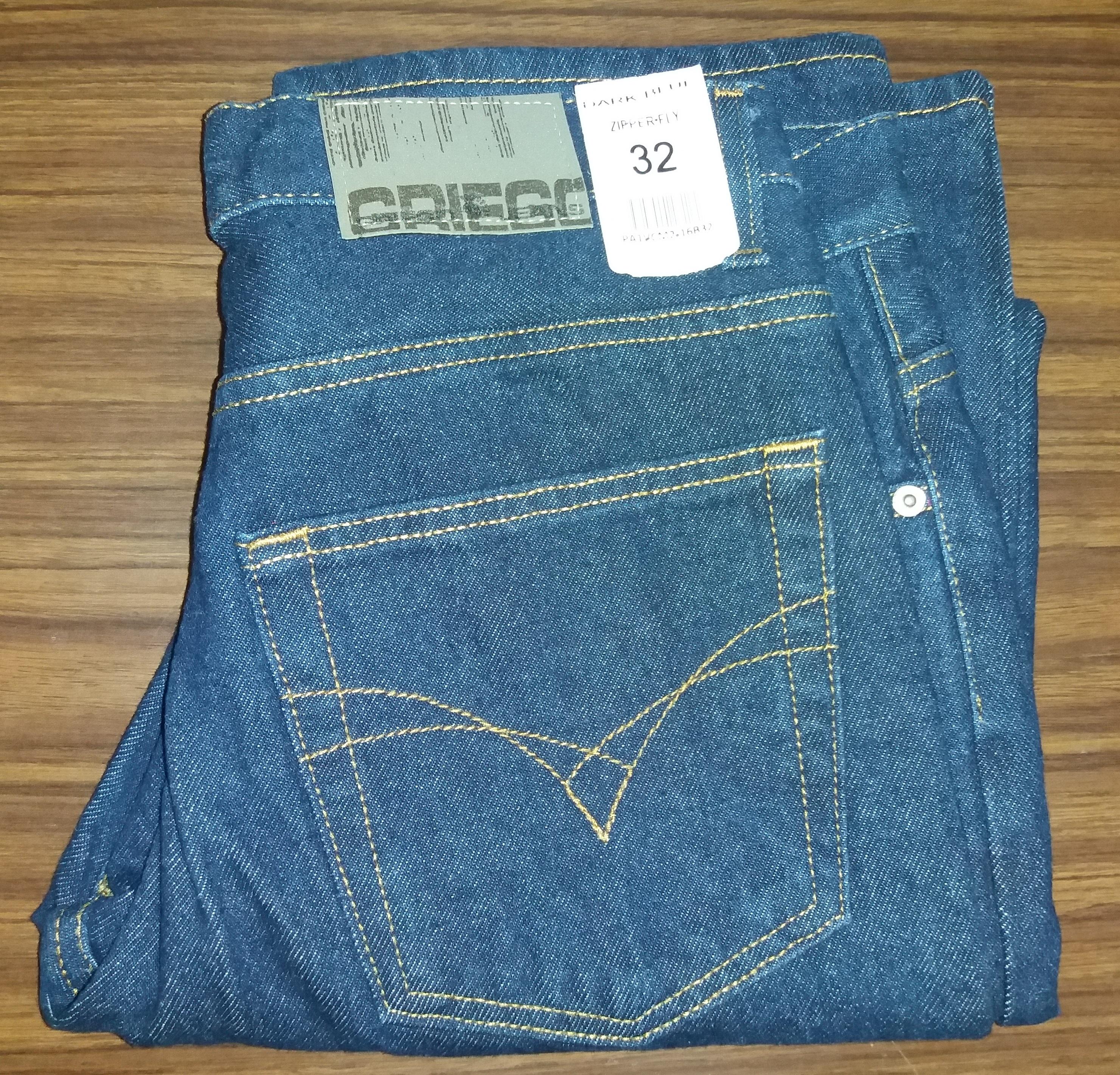 pantalon griego mezclilla