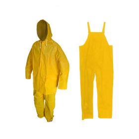equipo impermeable pantalon y saco